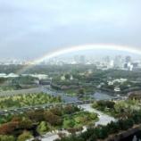 『お祝いの虹🌈』の画像