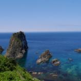 『【北海道ひとり旅】日本海ドライブ 積丹町『島武意海岸』』の画像