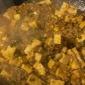 今日は麻婆豆腐だ!  ひき肉たっぷり入れてやろうといつもの倍...
