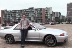 R32のスカイライン GT-Rをアメリカで乗ったらフェラーリよりも声をかけられるんだが