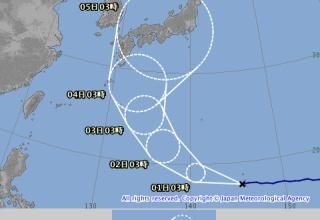 【悲報】台風21号、ガチで史上最強クラス !!!!