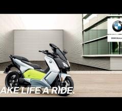 フル電動オートバイ、BMW Cエボリューションが気になる