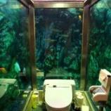 『【こんなの見たことない!!水族館好きはチェックして!!!】何だこのトイレは!?水族館トイレで話題のカフェ「ヒポポパパ」』の画像