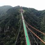 【動画】中国、また世界一の橋を完成させちゃった!今度は世界一長い歩行者用吊り橋 [海外]
