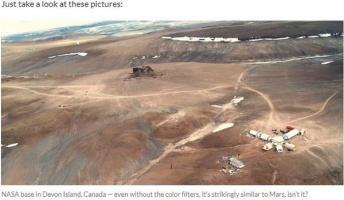 【陰謀論】NASA発表の「火星画像」はカナダのデヴォン島で撮影か!? 決定的証拠4つ(画像あり)
