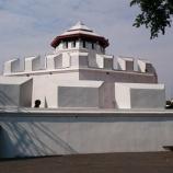 『【バンコク観光】マハーカーン砦 ===ラーマ3世記念公園の端にある白い要塞===』の画像