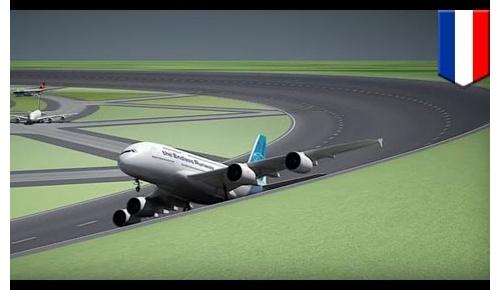 円型のエンドレス滑走路をオランダ技術者が提案、海外ユーザーの反応は?