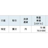 『【XOM】不人気優良株エクソン・モービルの株式を60万円分買い増したよ!』の画像