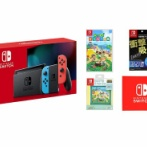 <Amazon>Nintendo Switch 本体 ネオン (新モデル)+あつまれ どうぶつの森 -Switch など