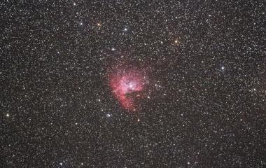 『カシオペア座のNGC281バックマン星雲』の画像