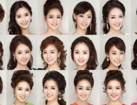 韓国のミスコン、候補者の顔がみんな同じでワロタwwwww