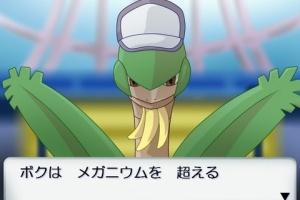 【ポケモン速報】メガトロピウスきたあああああ!!特性ははやてのつばさ!!