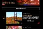 一度は訪れたい、関西の紅葉名所で『星のブランコ』が1位になってる!