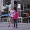 モンゴルの女性モデルの足の長さが驚異的すぎるwwwww