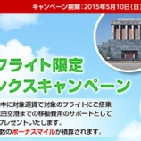 『JAL 成田発国際線でAmazonギフト券5000円』の画像