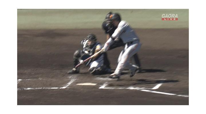 巨人・山本泰寛  .341(44-15)  四球9  出塁率.453  OPS.953  盗塁2