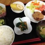 『昨日の太田食事(コロッケ)』の画像
