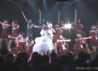 小嶋陽菜とチーム8で「大声ダイヤモンド」を披露!【小嶋陽菜卒業公演】