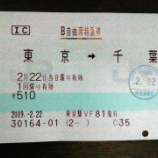 『「ホームライナー」廃止後も東京から千葉まで料金510円。帰宅通勤時間帯の特急「しおさい9号」に乗車してきました!』の画像