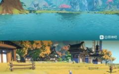 【原神】稲妻マップ画像リーク?
