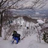 『201227 大日ヶ岳雪上訓練』の画像