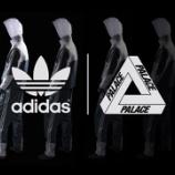 『更新: 6/6 0:00~48時間限定でオンライン販売 ADIDAS × PALACE 日本正規発売決定』の画像