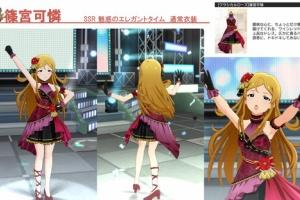 【ミリシタ】可憐、環、雪歩、美也SSR衣装紹介