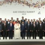 【動画】G20大阪、安倍首相が参加国首脳を出迎え~集合写真まで【全編】