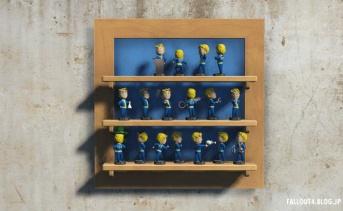 ボブルヘッドの壁掛け飾り棚と回転アニメーション化MOD