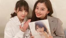 朝比奈彩さん、乃木坂 与田祐希との2ショット写真を公開!