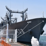 『補給艦ときわ@門司港西岸壁』の画像