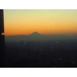 『サンシャインシティからの富士山』の画像