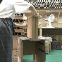 壁紙レンガ クッションブリック壁シートPB 10枚以上でハサミ付き