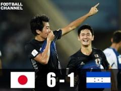 【 ハイライト動画 】U17W杯初戦!日本がホンジュラスに6-1で圧勝!中村敬斗ハット!久保建英1G2A!
