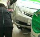 コンビニに車突っ込む 滋賀 「ブレーキの位置がわからなくなった」