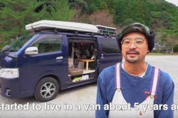 海外「超クールな人生だ!」オシャレな移動型ホームレス・ヨーヘイが海外から注目を浴びる