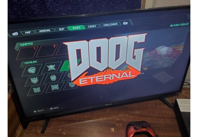 VTuber戌神ころねさん、DOOM Eternalの最新DLCでイースターエッグ要素に実装されてしまうwwww
