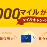 『【ANAマイレージクラブ】今だ!最大10,000マイルが当たるマイル大キャンペーンin2021開催!』の画像