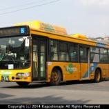 『鹿児島市交通局 日野ブルーリボンシティハイブリッド ACG-HU8JMFP/JBUS』の画像