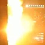 【動画】中国、今度は重慶市の病院が爆発、炎上!夜の街に閃光が走り、爆音が轟く! [海外]