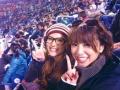 【朗報】鈴木あみさんも野球観戦にハマる