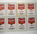ウォーホルの「キャンベルのスープ缶」盗難 FBIが懸賞金