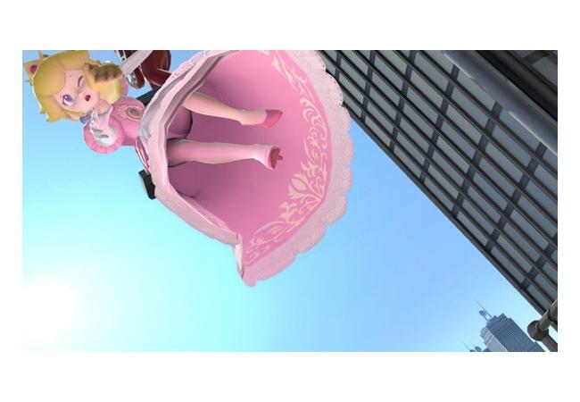 【天才】『スマブラSP』ピーチ姫のスカートの中が暗黒 → ネスの発光でキャンセルできることが判明!!!