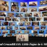 『【DCI】ブラス必見! 2020年キャロライナ・クラウン・ホーンライン『小フーガ ト単調』動画です!』の画像
