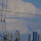 『36EDによる入道雲と武蔵小杉タワーマンション群 2020/04/27』の画像
