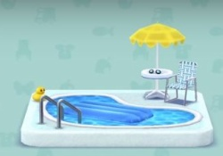 【ポケ森】オブジェの「プール」クラフトに時間かかりすぎワロタwwwww