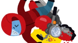 【新型コロナ】自粛無視してツーリングの男性が転倒、背骨を折るなどの重傷…山梨