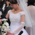 ミス&ミスター東大コンテスト2011 その13(米田まりな・ウェディングドレス)