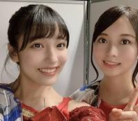 【乃木坂46】佐々木琴子と早川聖来のツーショットが異次元!?2人とも美人だな!