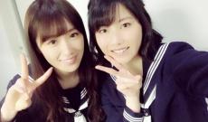 【乃木坂46】AKB横山由依が高山一実との2ショット写真を公開!